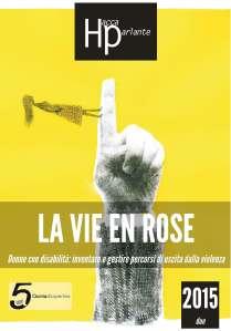copertina del numero di HP-Accaparlante sulla violenza alle donne disabili